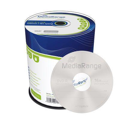 100 St. DVD-R Rohlinge, MediaRange, 16x